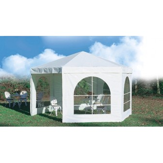 COMPLETE 12.5 m² HEXAGONAL BOOTH