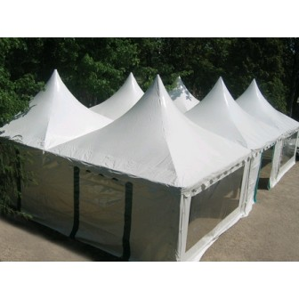 Complete 4 x 4 Pagoda booth 16 M²
