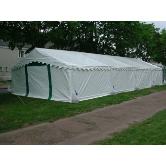"MARQUEE TENT ""Super Plein Air"" 6m x 16m (19.5ft x 52.5ft) - 96 m² - white roof"