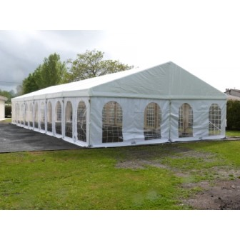 PARTY MARQUEE 8m / 26ft width Clear span Aluminium frame